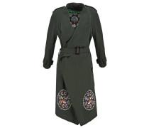 CHERYL Wollmantel / klassischer Mantel verde bottella