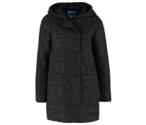 Wollmantel / klassischer Mantel dark grey melange