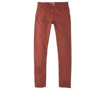 ALEXX - Jeans Slim Fit - burnt orange