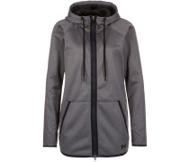 Sweatjacke carbon heather/black