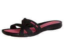 ATHENA Badesandale black/pink