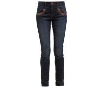 Jeans Straight Leg dark blue denim