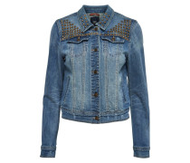 Jeansjacke medium blue denim