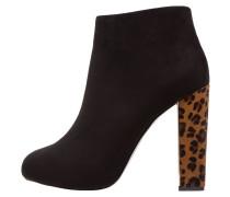 High Heel Stiefelette nero/naturale