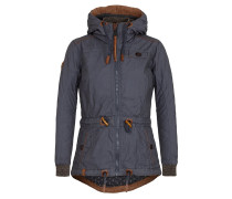 Parka dark blue