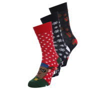 XMAS CHARACTER 3 PACK Socken multi bright