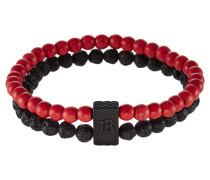 VAGATOR - Armband - red/black