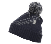 Mütze dark blue/grey