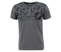 LIHOWA TShirt print dark grey melange