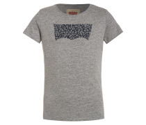 FLOW TShirt print gris clair chine