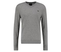 POP ICON Strickpullover medium grey