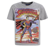 SUPERMAN - T-Shirt print - grey marl
