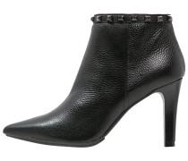 REALES High Heel Stiefelette black