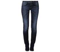 Jeans Straight Leg mid blue denim