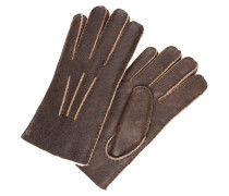 POINTS Fingerhandschuh bomber choc