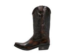 Cowboy/ Bikerboot marron