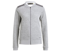 Sweatjacke - true gray heather/graphite