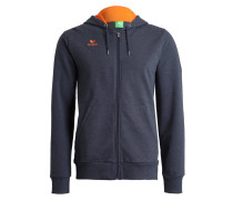 Sweatjacke - new navy/orange fire