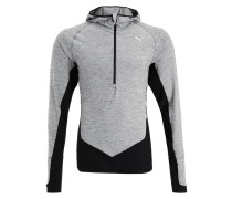 Langarmshirt medium gray heather