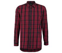 CENTRAL Hemd red/black