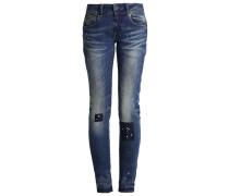 GStar MIDGE CODY MID SKINNY Jeans Straight Leg destroyed denim