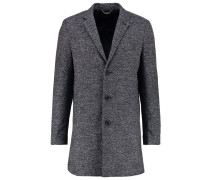 HOMMAGE Wollmantel / klassischer Mantel grey black