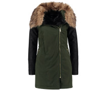 Wintermantel dark khaki