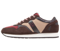 PECU Sneaker low brown/taupe/black