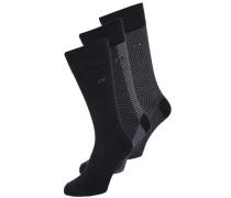 DMITRY 3 PACK Socken black