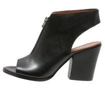 High Heel Sandaletten nero