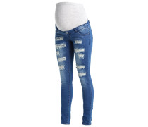MLNEWSILJE Jeans Slim Fit med blue denim
