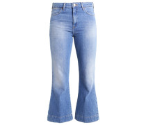 Flared Jeans - stone blue