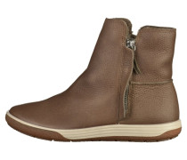 Stiefelette dark clay