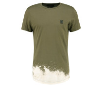 FOG TShirt print khaki
