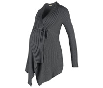 JURA Strickjacke anthracite melange