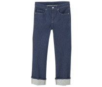 SUIT Jeans Straight Leg dark blue