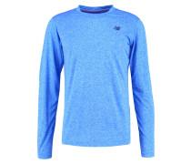 Langarmshirt electric blue heather