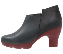 OCTOPUS Ankle Boot black/rioja