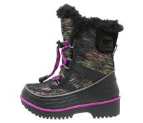 TIVOLI II - Snowboot / Winterstiefel - black/bright plum