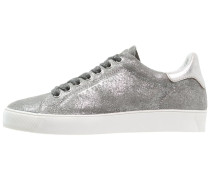 MINNA Sneaker low grey/silver metallic