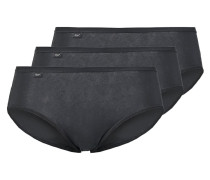 EVERNEW 3 PACK Slip black