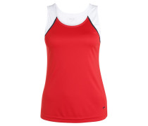 TILLY - Top -  red/white