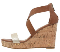 High Heel Sandaletten brown