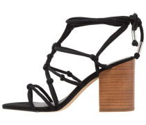 CARMELA - High Heel Sandaletten - black