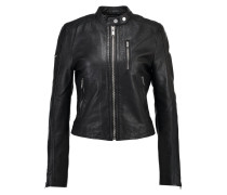 NEW MALIBU - Lederjacke - black