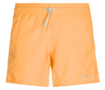 CRUNOTOS Badeshorts neon orange