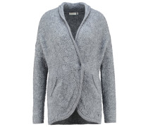 Strickjacke - grey melange