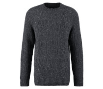 GOODLAND - Strickpullover - dark grey melange