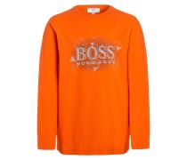 Langarmshirt orange neon