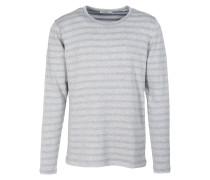 FABIAN Sweatshirt grey melange/bright blue